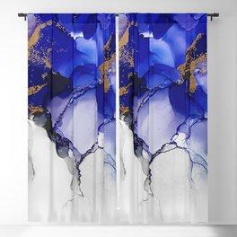 Lightning Blue Blackout Curtain
