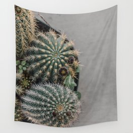 round succulents Wall Tapestry