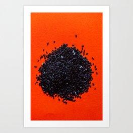 Forbidden Rice Art Print
