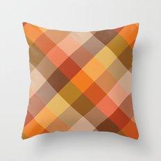 Squaremetric Throw Pillow