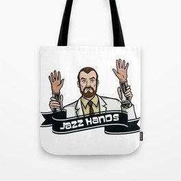 Jazz Hands! Tote Bag