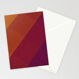 Square Abstract Gradient Art Stationery Cards