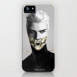 7 sins: Wrath iPhone Case
