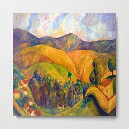 Diego Rivera Landscape Metal Print