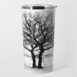 Three Winter Oaks Travel Mug