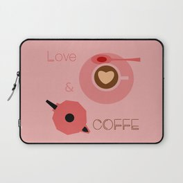 Love & Coffee Laptop Sleeve