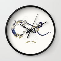 cook Wall Clocks featuring Cook by Ketina