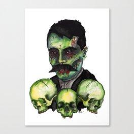 Zombie Emilliano  Canvas Print