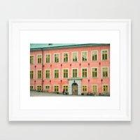 swedish Framed Art Prints featuring Swedish by Gaby Arauz