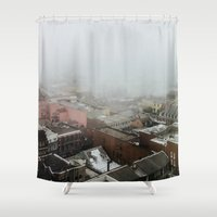 new orleans Shower Curtains featuring New Orleans by Alden Terry