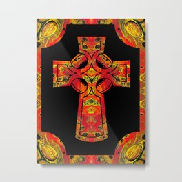 Red Cross Metal Print