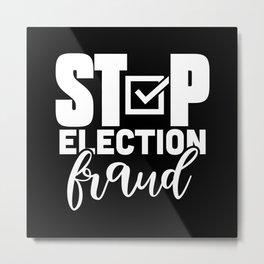 US Presidential Election Fraud Metal Print