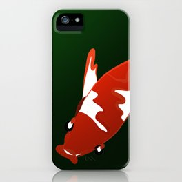 Koi and Green iPhone Case