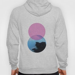 Ocean and the pink sky Hoody