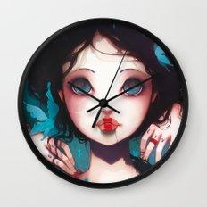 Nachtfalter Wall Clock