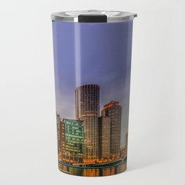 Boston Financial District Travel Mug