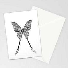 SILK MOTH Stationery Cards