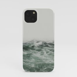 Green Sea | Landscape Photography | Beach iPhone Case