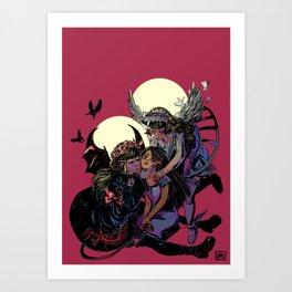 temptation Art Print