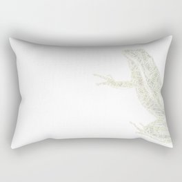 My Spirit Animal is a Frog Rectangular Pillow