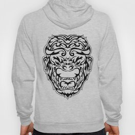 Tribal Monkey Head Hoody