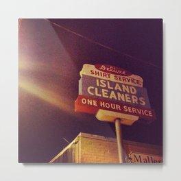Island Cleaners Metal Print
