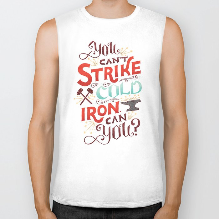 Can't Strike Cold Iron Biker Tank