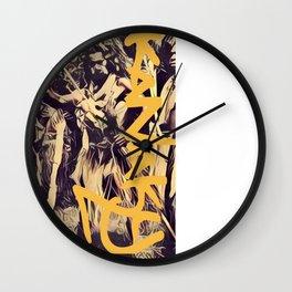 kanaky warrior Wall Clock