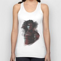 winter soldier Tank Tops featuring Winter Soldier - Colour Palette by charlotvanh