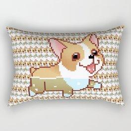 Corgi Orgy Rectangular Pillow