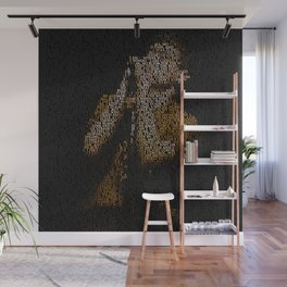 Ian Curtis : Unknown Pleasures Wall Mural