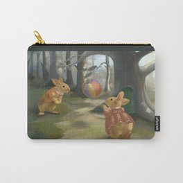 Rabbits Carry-All Pouch