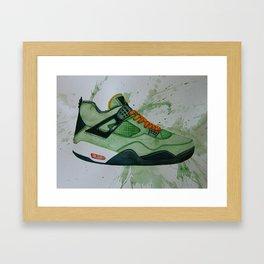 UNDFTD Jordans Framed Art Print