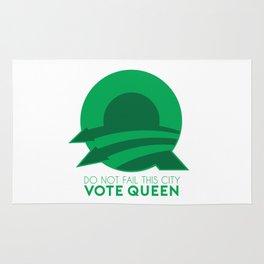 Vote Queen Rug