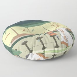 Ichiraku Ramen Shop Floor Pillow
