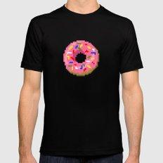 Donut Mens Fitted Tee Black MEDIUM