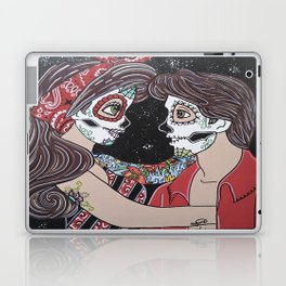Rockabilly Sugar Skull Laptop & iPad Skin