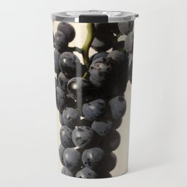 Vintage Concord Grapes Illustration Travel Mug