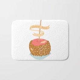 Caramel Apple om nom nom Bath Mat