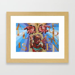 Ecclesia Easter 2011 Framed Art Print