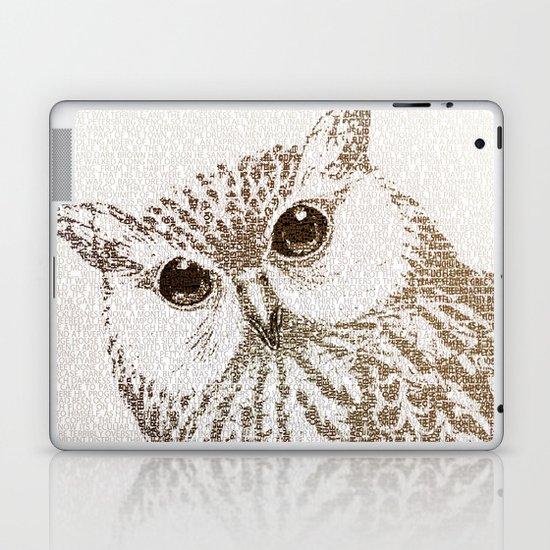 The Intellectual Owl Laptop & iPad Skin