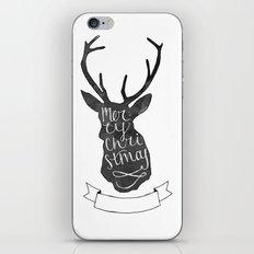 Merry Christmas Deer (3) iPhone Skin