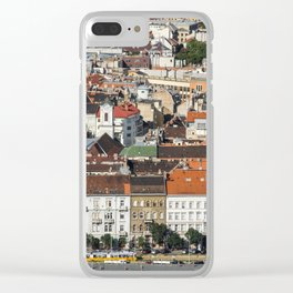 Budapest from Above Clear iPhone Case
