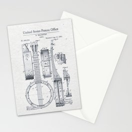 Banjo 1882 Stationery Cards