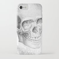evil iPhone & iPod Cases featuring Evil by shaunsheep