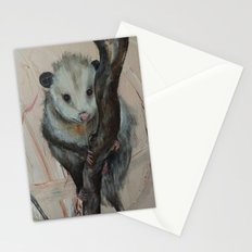 Cute Opossum Stationery Cards
