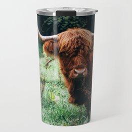 Scottish Highland Cattle Travel Mug