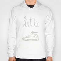 converse Hoodies featuring Let's Converse by Beauty and the Becca
