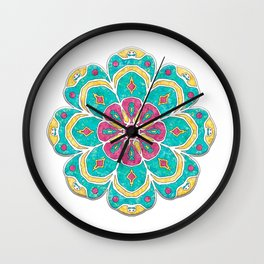 Mandala Artistica Spring Wall Clock