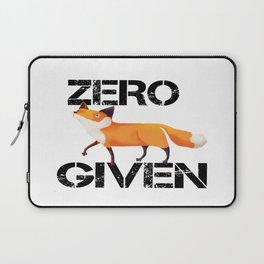 Zero Fox! Laptop Sleeve